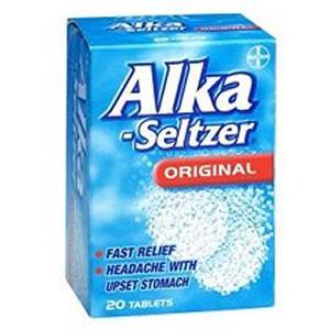 Alka Seltzer'in zararları