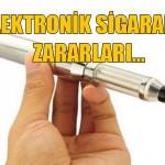 Elektronik sigara kullanmanın zararları